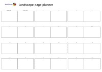 Bookleteer_Landscape_book_planner